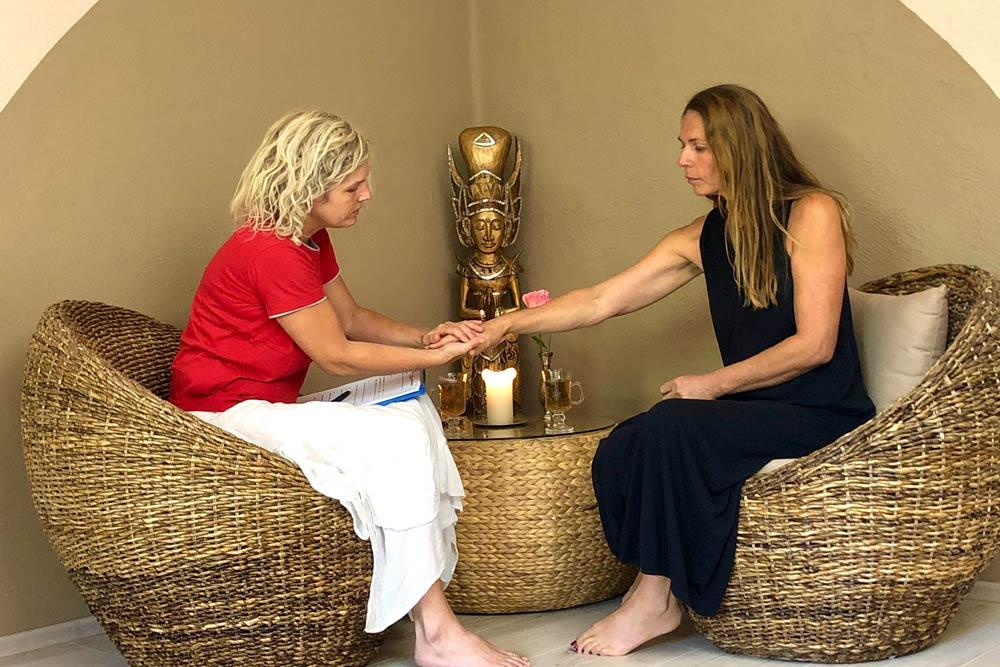 Ayurvedapraxis Andrea Behandlungsgespraech